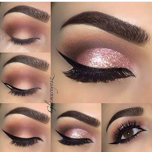 Now Kiss And Makeup: Beautiful Work By @makeupbyglamureyesz Using Our Brush Set