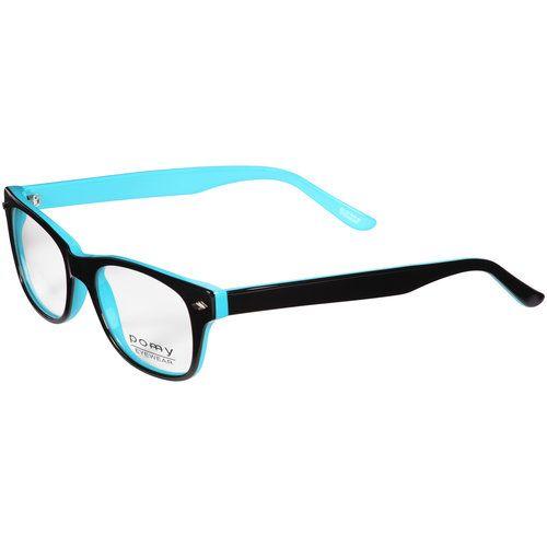 Pomy Eyewear 315 RX-able Eyeglass Frames, Aqua: Vision : Walmart.com ...