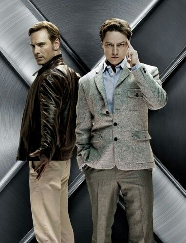 Young Magneto And Charles X Men First Class James Mcavoy James Mcavoy Michael Fassbender Michael Fassbender