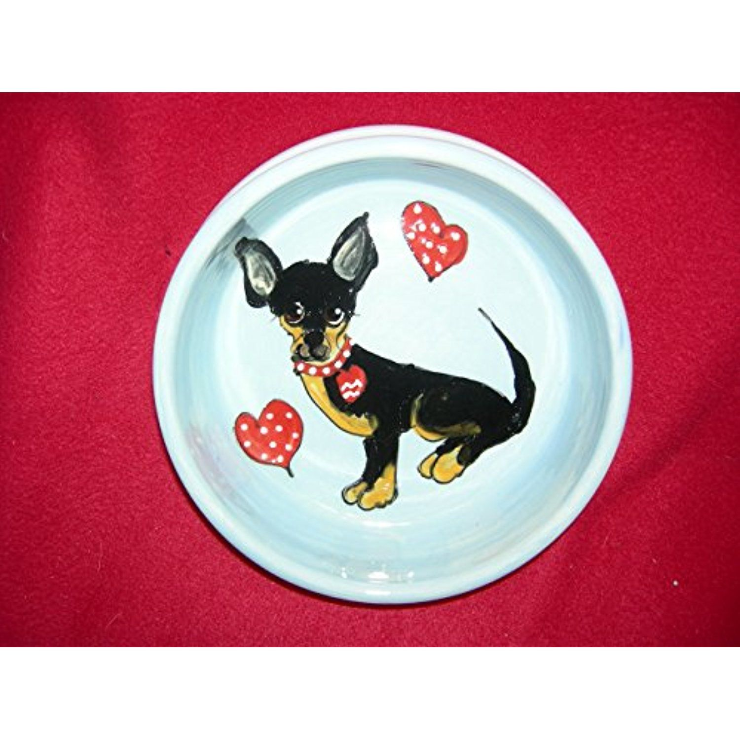 Dog Bowl 6 Chihuahua Dog Bowl For Food Or Water Personalized At