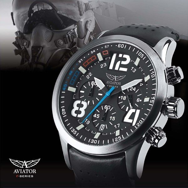 aviator f series pilot avw9176g92 chronograph horloges. Black Bedroom Furniture Sets. Home Design Ideas