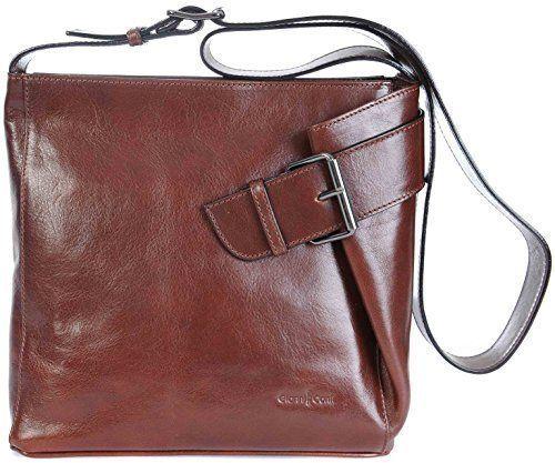 Gianni Conti Dark Brown Large Fine Italian Leather Hobo Shoulder Handbag 903444 Uk Women Handbags Fashion Bag