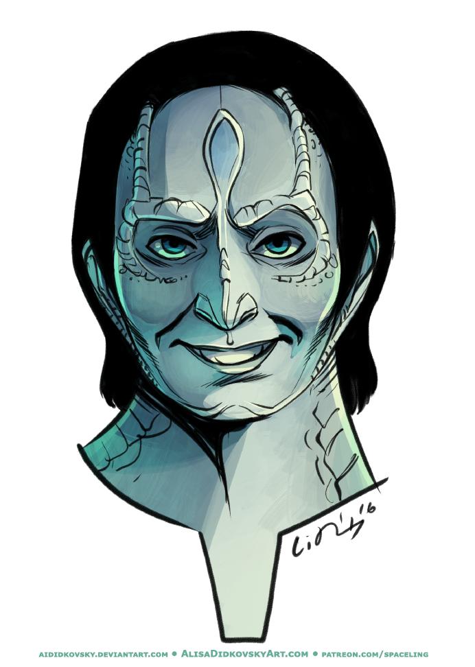 Elim Garak from Star Trek Deep Space 9