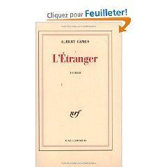 Parce Que L Etranger C Est Un Peu Nous Tous Non Albert Camus L Etranger Albert Camus Livre
