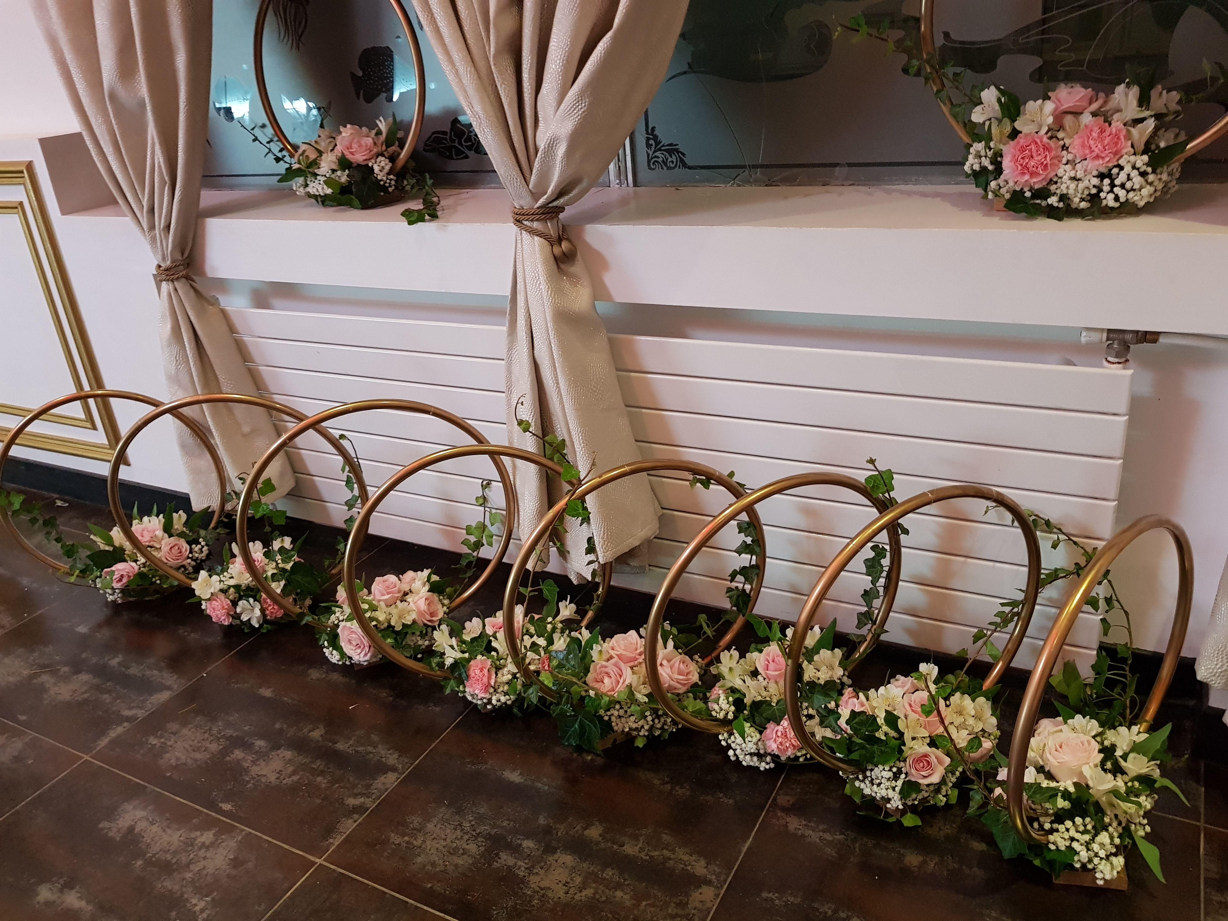 Comment Faire Un Centre De Table Avec Des Fleurs centres de table mariage, cercles. testez, approuvez! cercle