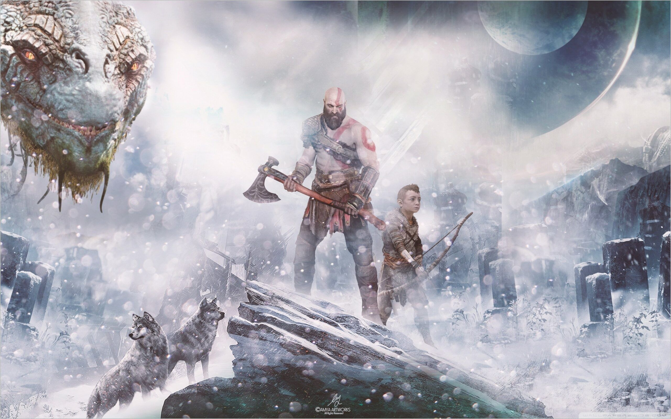 Norse Gods Wallpaper 4k God Of War Norse Mythology Mythology