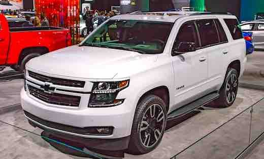 2018 Chevrolet Tahoe Build As Expected The Tahoe 2018 Is Not