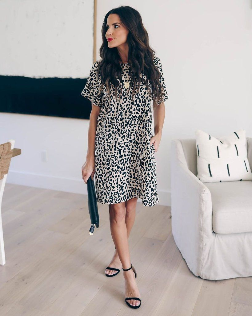 63d8f47e5dfe Click to shop our website or follow us at @VICIDOLLS for all the latest  updates + fashion inspo! On The Loose Pocketed Shift Dress