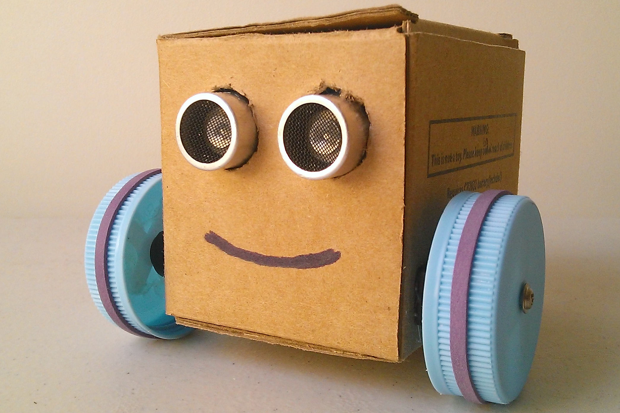 Pet a shy robot let s make robots arduino