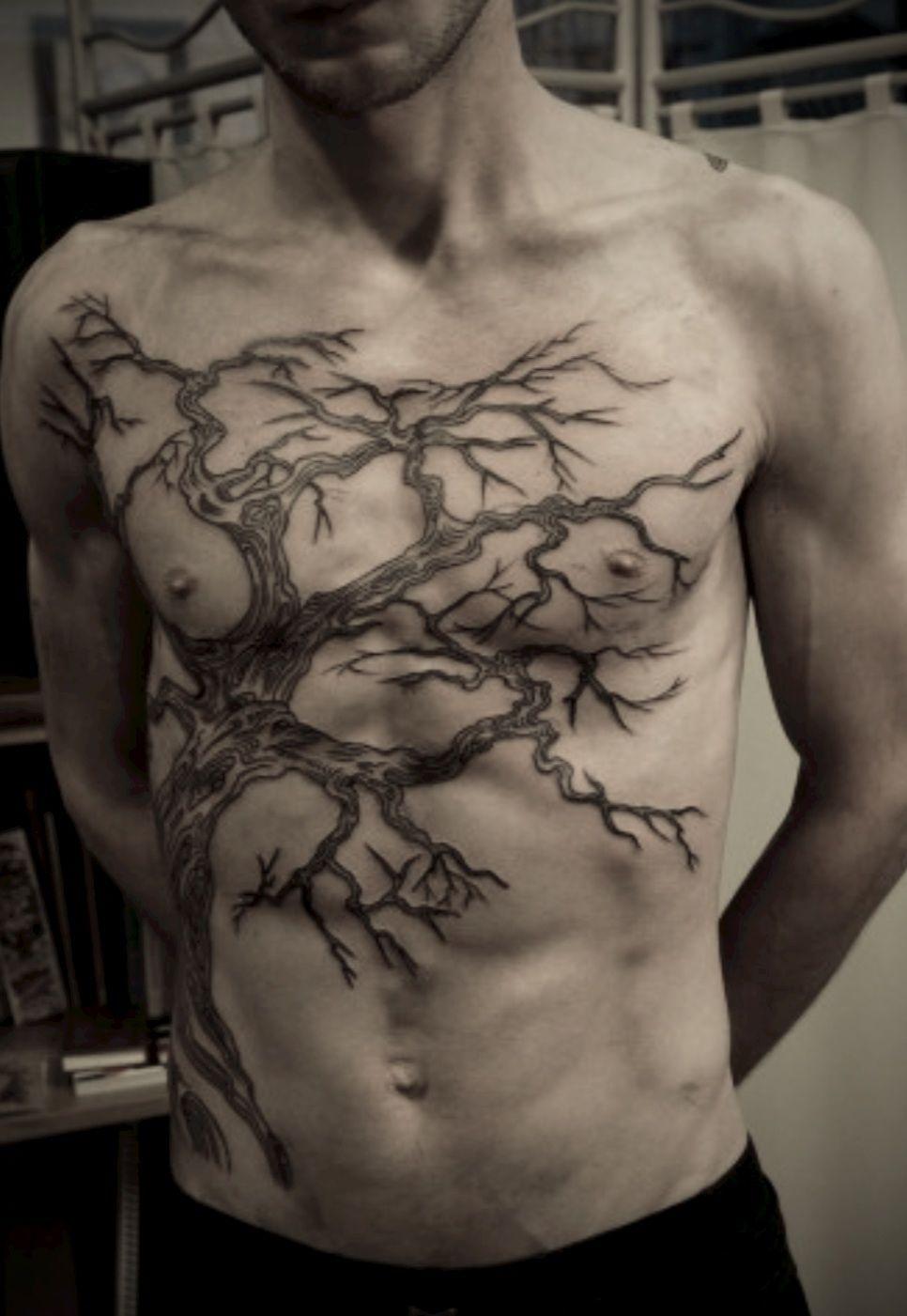 I just like the deadtree Tattoos! Chest tattoo men