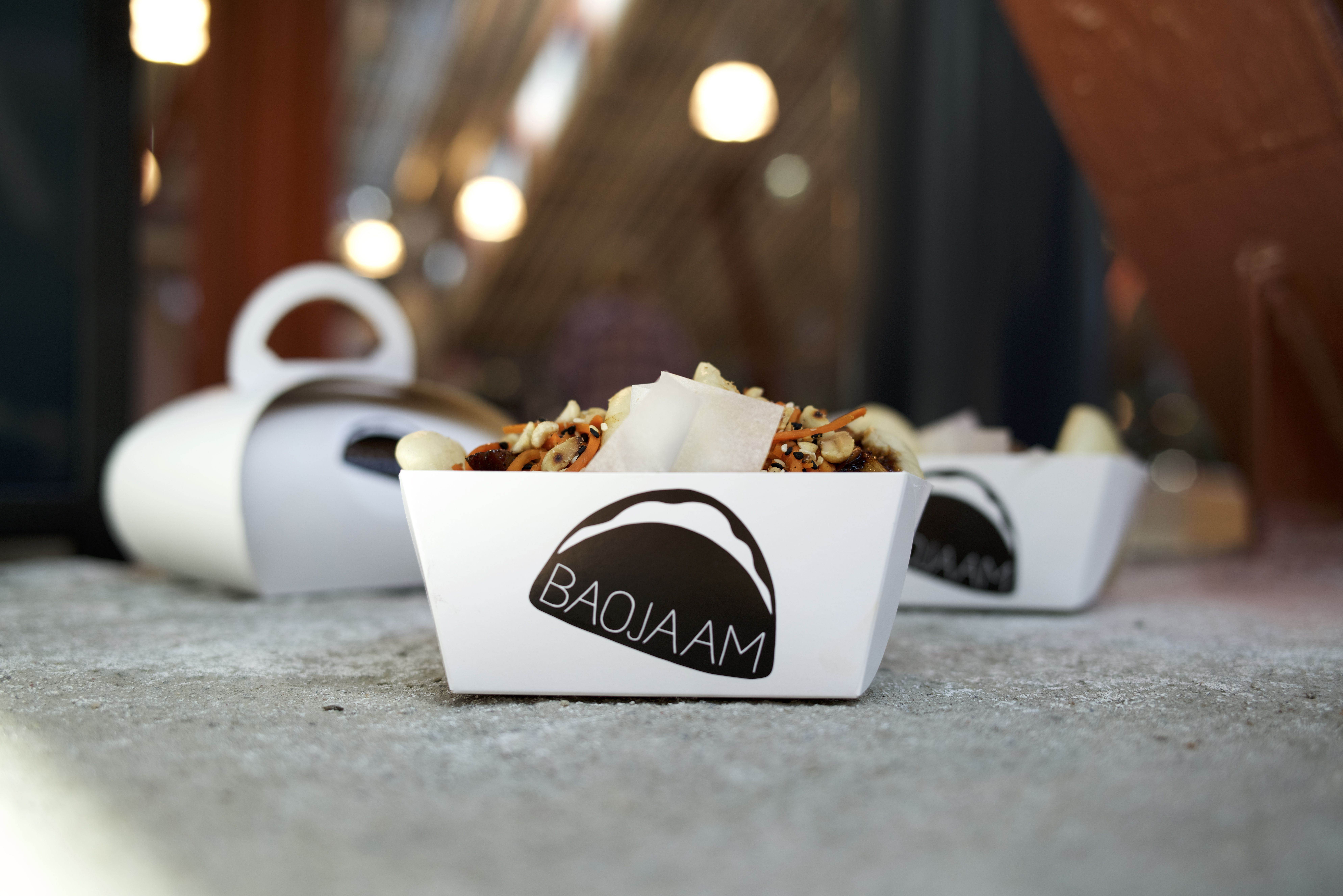 adcf765ac8c Baojaam's bao buns hanging around at the legendary Balti Jaama Turg in  Tallinn. Photo by Pepe Bruno Pictures.