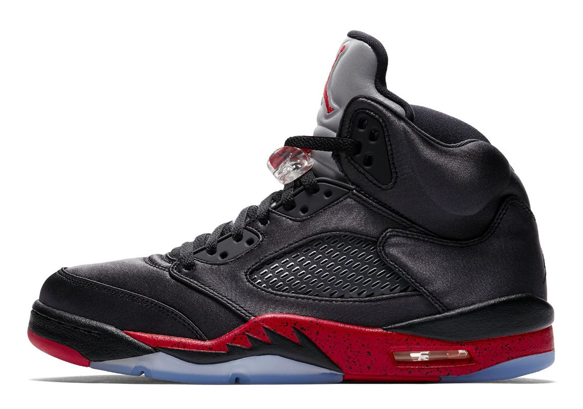 96f08a543f2 The Air Jordan 5 Satin Features Greatness And Recognize Messages ...