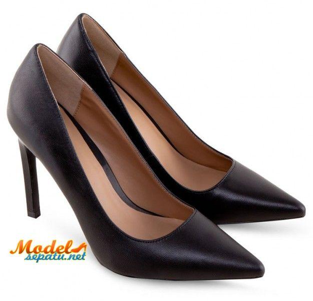 Sepatu Wanita Ujung Lancip Trendi Untuk Kerja Model Sepatu