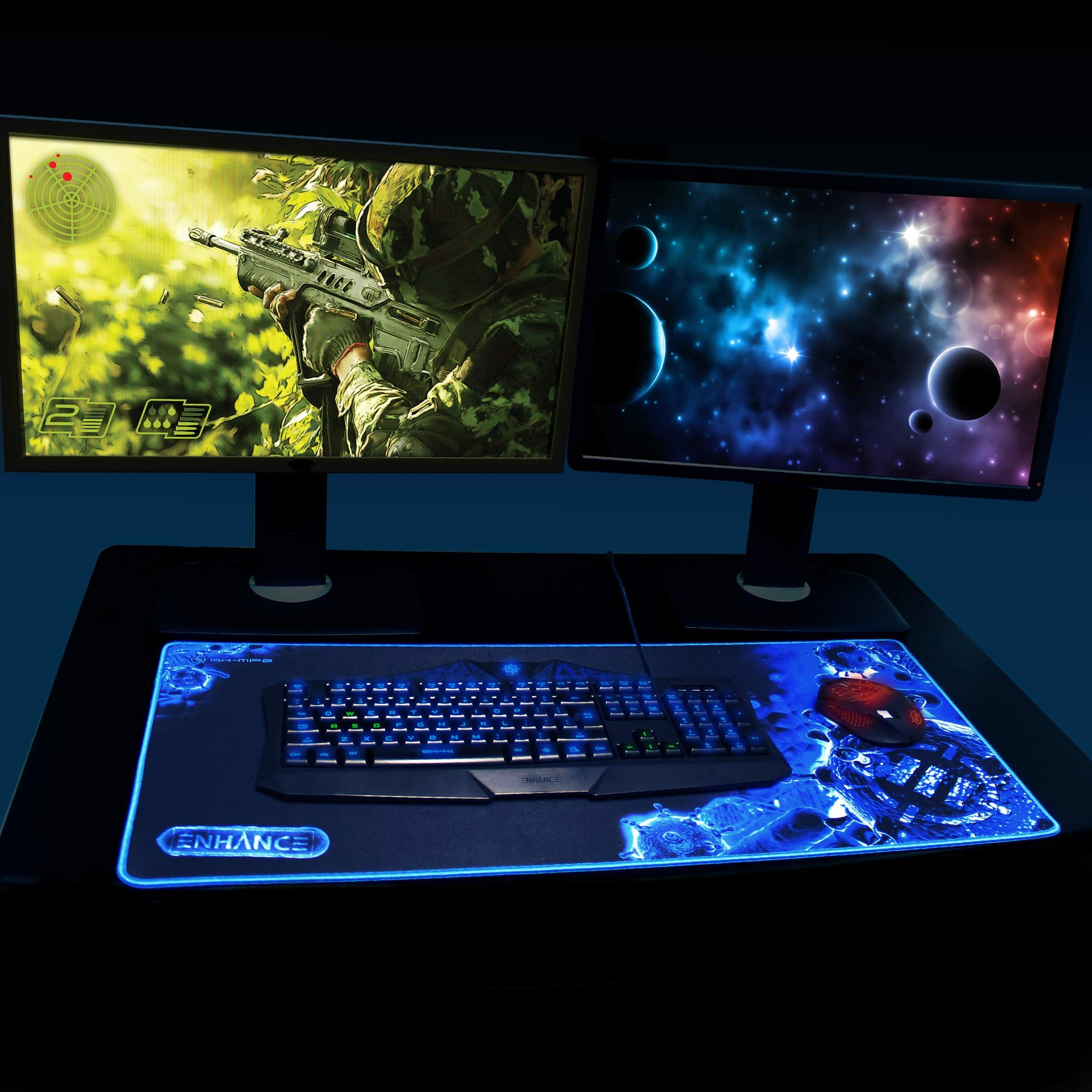 Enhance Gx Mp2 Extra Large Gaming Mouse Pad Mat With Ultra