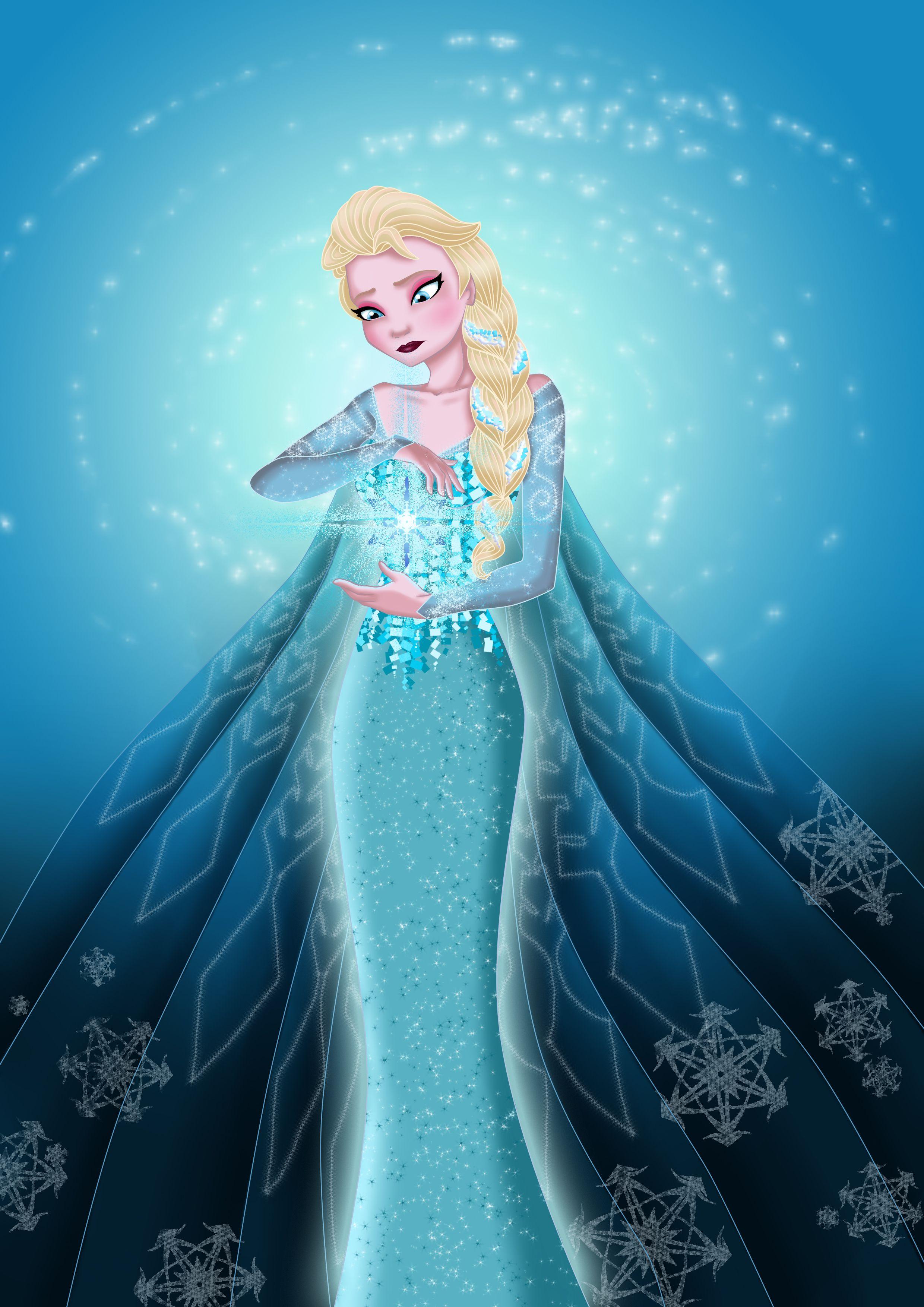 Frozen Fan Art Elsa Frozen Fan Art Disney Elsa Disney Fan Art