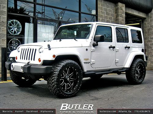 Jeep Wrangler Rims And Tire Packages >> Jeep Wrangler With 20in Fuel Maverick Wheels Cool Jeeps
