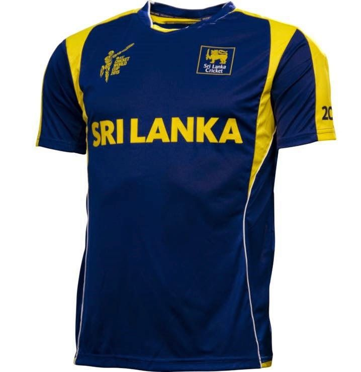 7969a940d Sri Lanka s Jersey Kit For World Cup 2015 - World Cup Schedule Updates