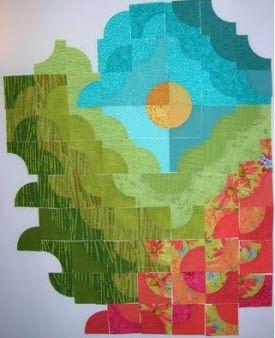 I love this Work in Progress (WIP) quilt being created by Kerstin ... : petaluma quilt guild - Adamdwight.com