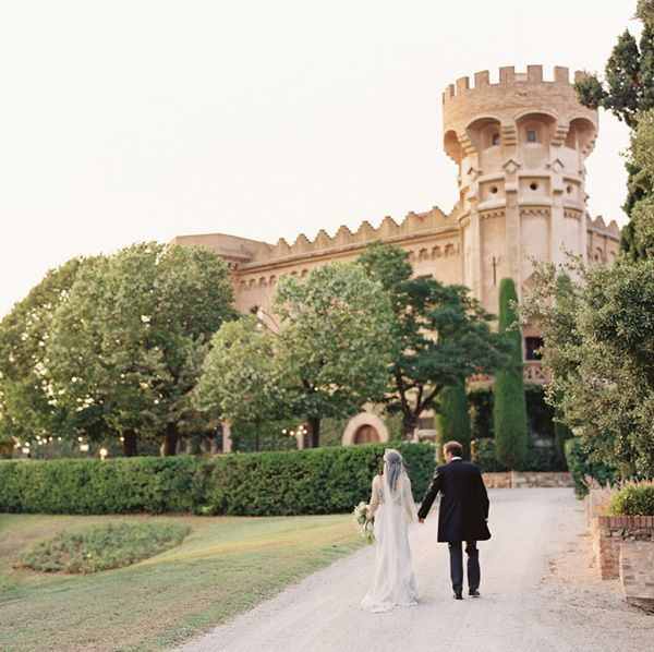 Elegant Barcelona Destination Castle Wedding Once Wed Castles Destinations And