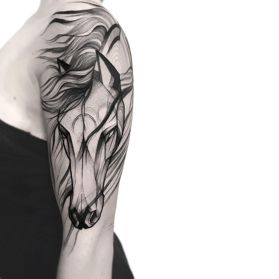 Frank Carrilho Simple Horse Horse Tattoo Cowgirl Tattoos Horse Tattoo Design