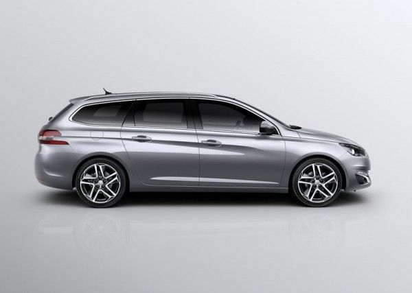 2014 Peugeot 308 Sw Right Side View 600x427 2014 Peugeot 308 Sw Review And Design Peugeot 308 Peugeot Automotive Photography