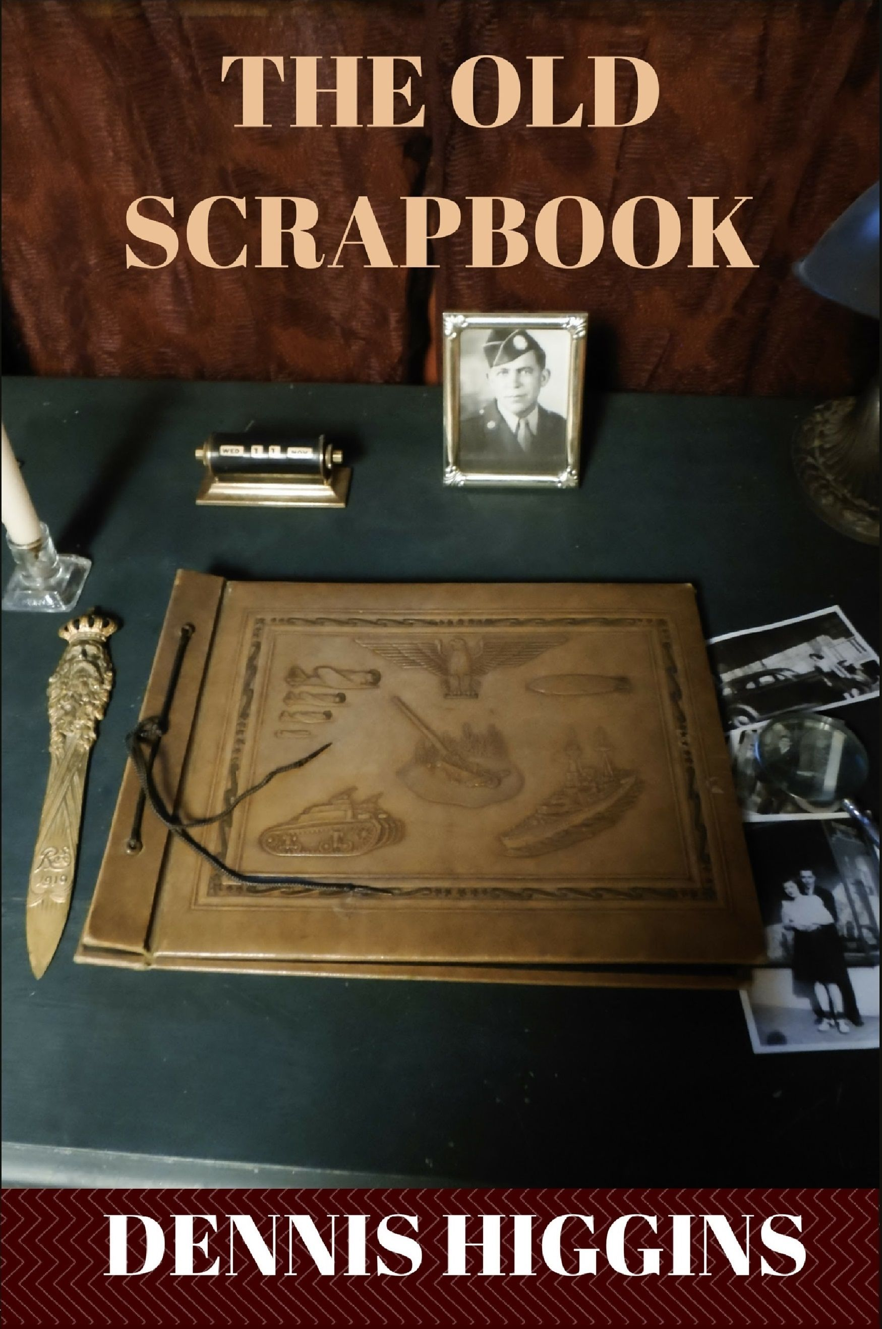 #timetravel to World War II. The scrapbook is real, the people were real. Their love was real. Uncover the mysteries found in a 70 year old scrapbook.  To be released 2016