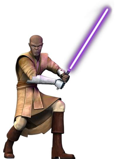 Mace Windu During The Clone Wars Star Wars History Star Wars Clone Wars Star Wars Characters