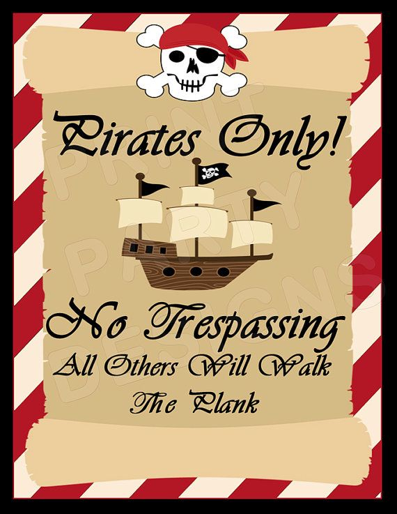 graphic relating to Pirates Printable called Printable Pirate Occasion- Pirate Birthday, Pirate Celebration