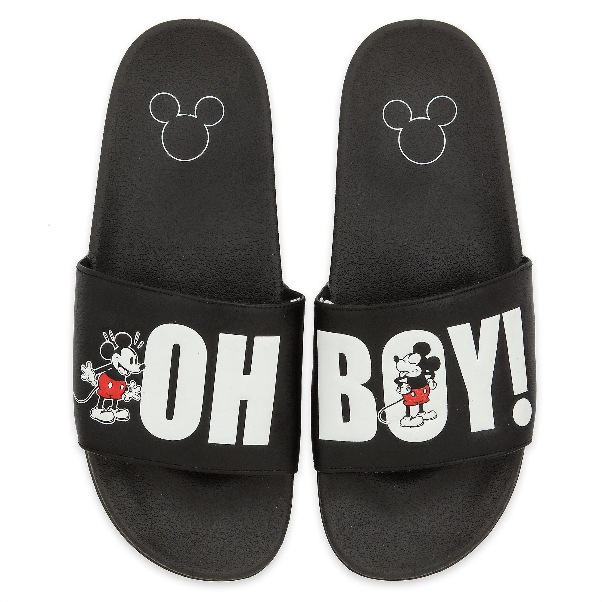 Mickey Mouse Slides for Men - Oh My