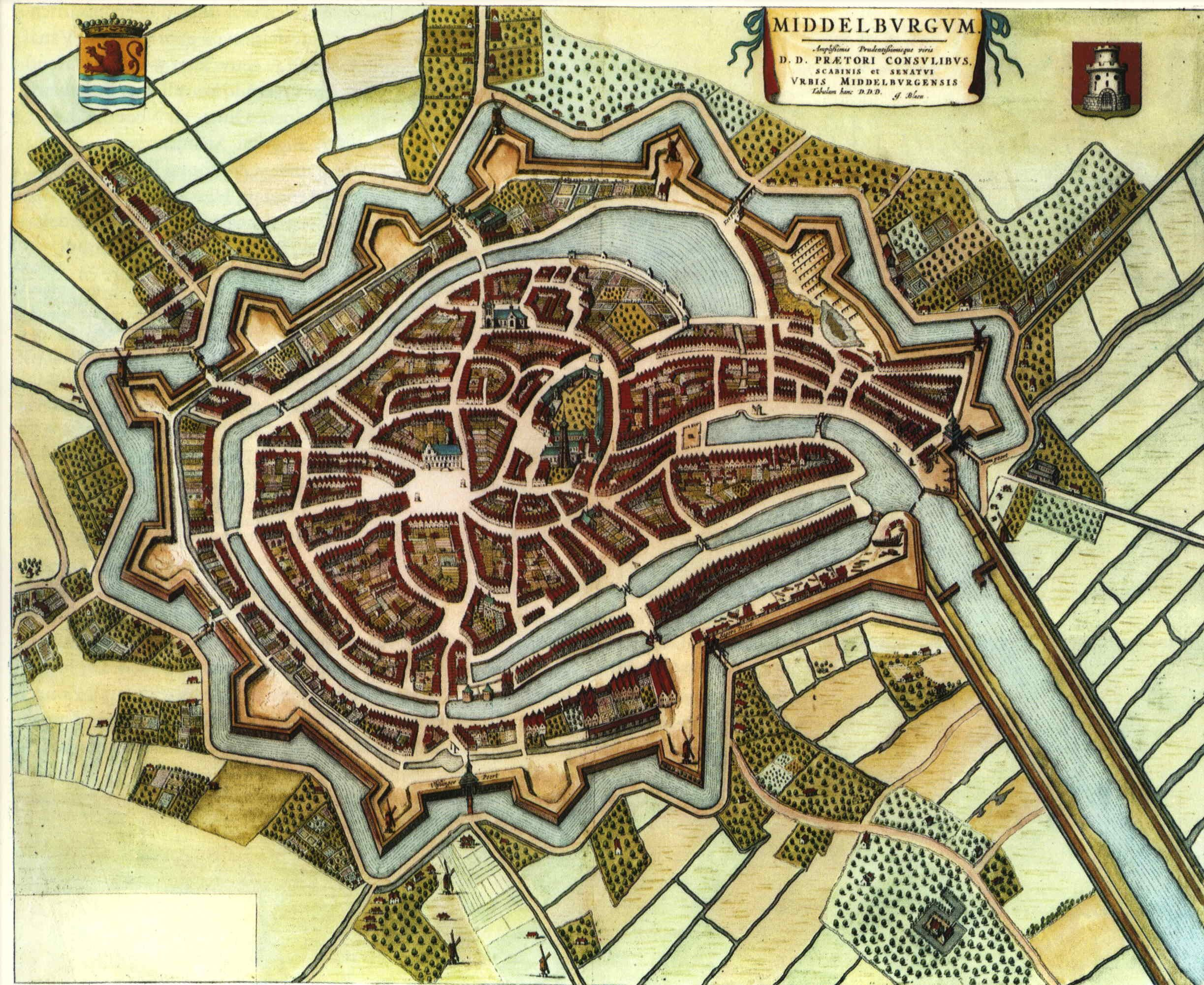 Middelburg rond 1662