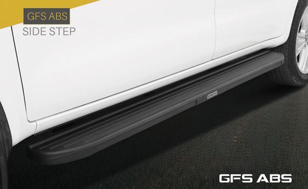 Goldsun Design Dlx Aluminium Foot Step For Toyota Innova Crysta