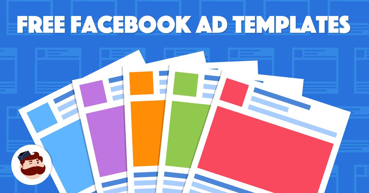 Facebook Ad Template 15 Free Templates Built For Success Https Adespresso Com Blog Facebook Ad Templa Facebook Ad Template Facebook Ad Free Flyer Templates