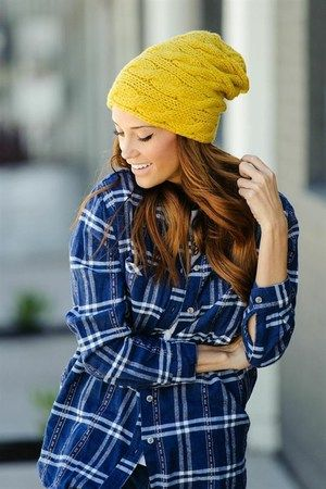 CABLE KNIT SLOUCHY BEANIE - MUSTARD http://www.thetrendykitten.com/accessories/cable-knit-slouchy-beanie-mustard