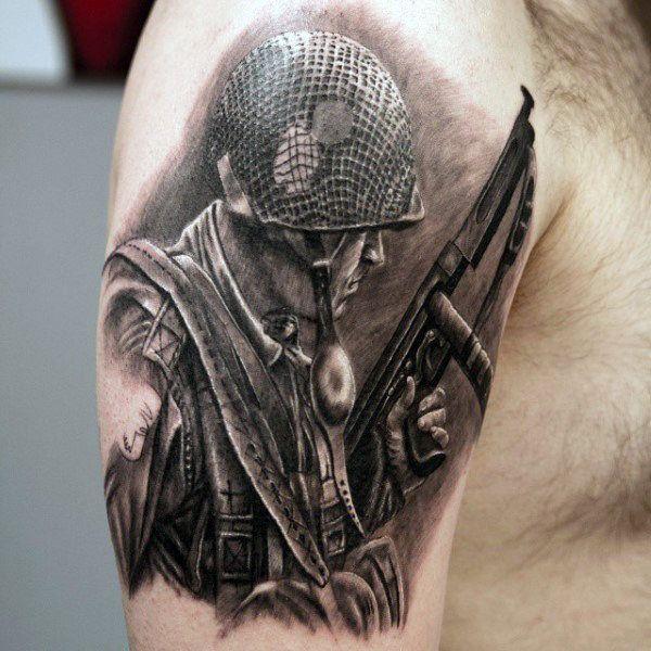 Pin On Army Tattoo Ideas