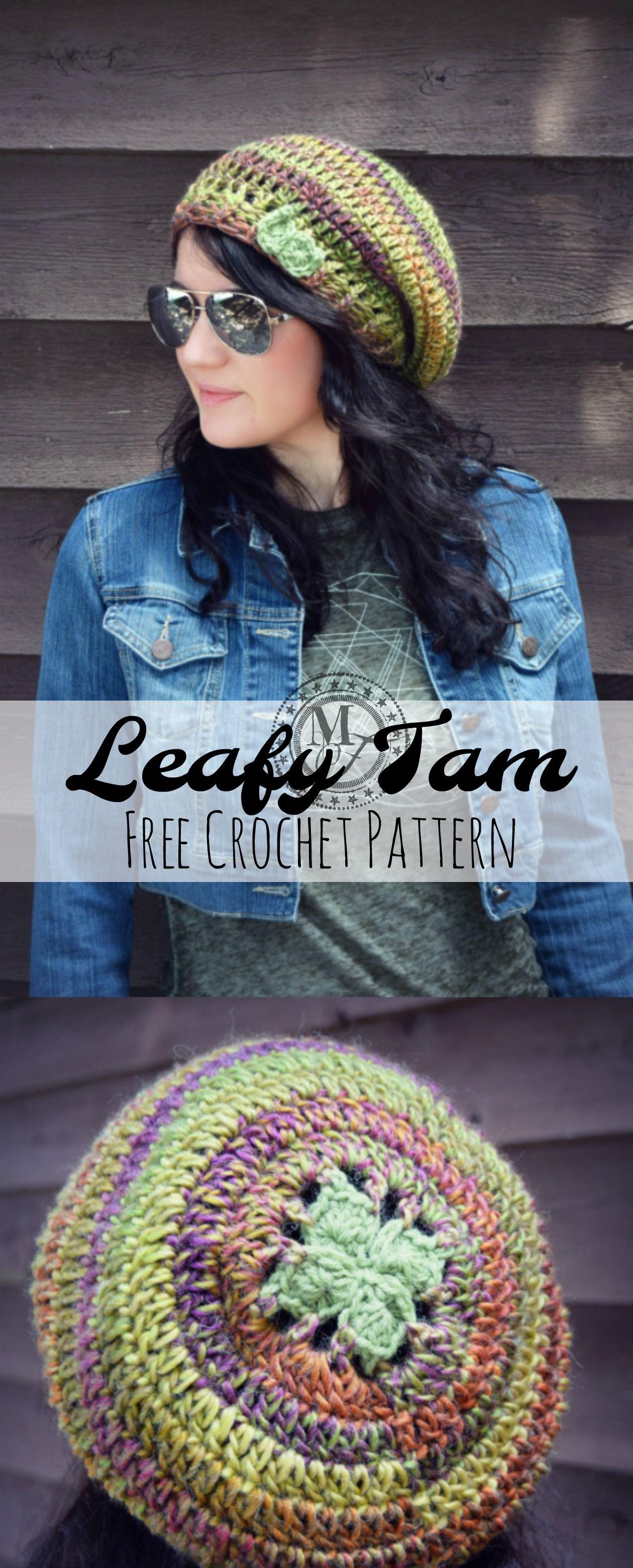 LeafyTamCover1 | Knitting and Crochet | Pinterest | Sombreros de ...