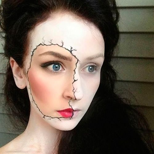 27 Cool (but Scary!) Halloween Makeup Ideas halloween stuff - cool makeup ideas for halloween