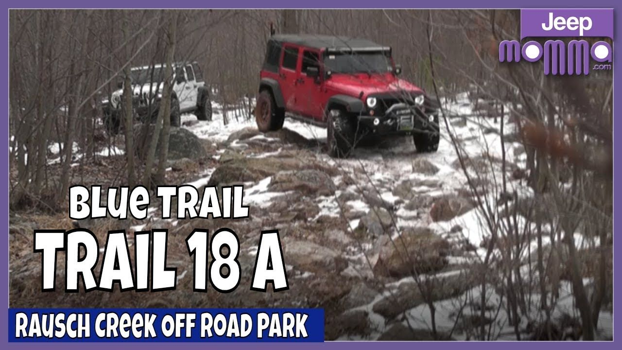 More Jeep Wrangler Off Raod On Trail 18a Blue At Rausch Creek Off