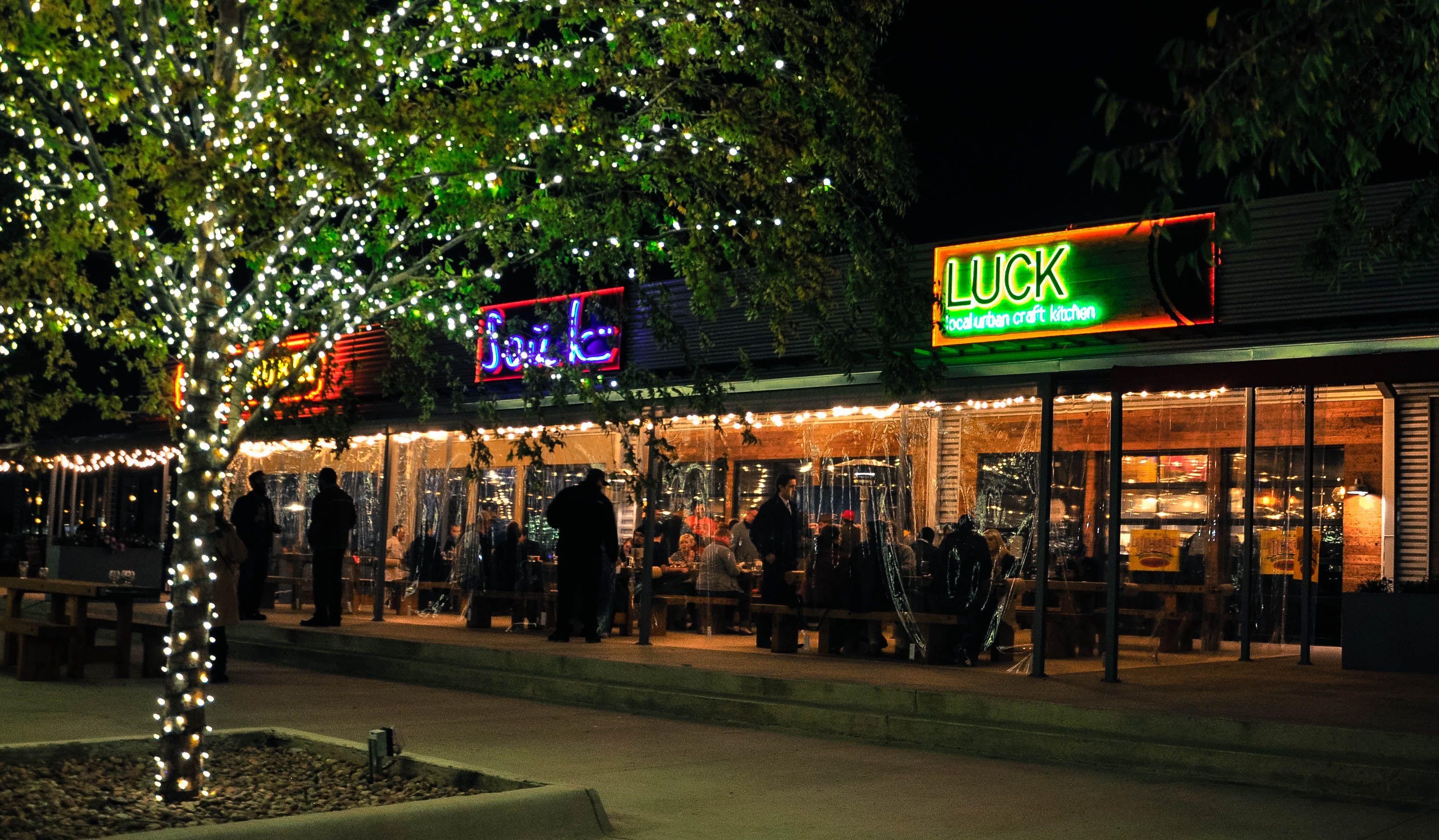 Luck Restaurant Trinity Groves Beer Food Luck Dallas