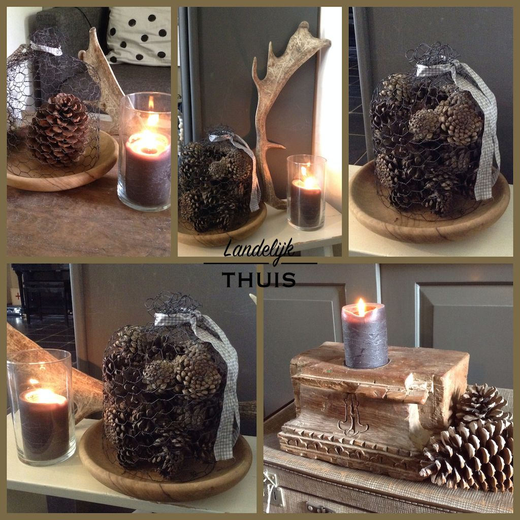 Collage herfst landelijk woondecoratie home decoration pinterest collages herfst en - Decoratie industriele huis ...