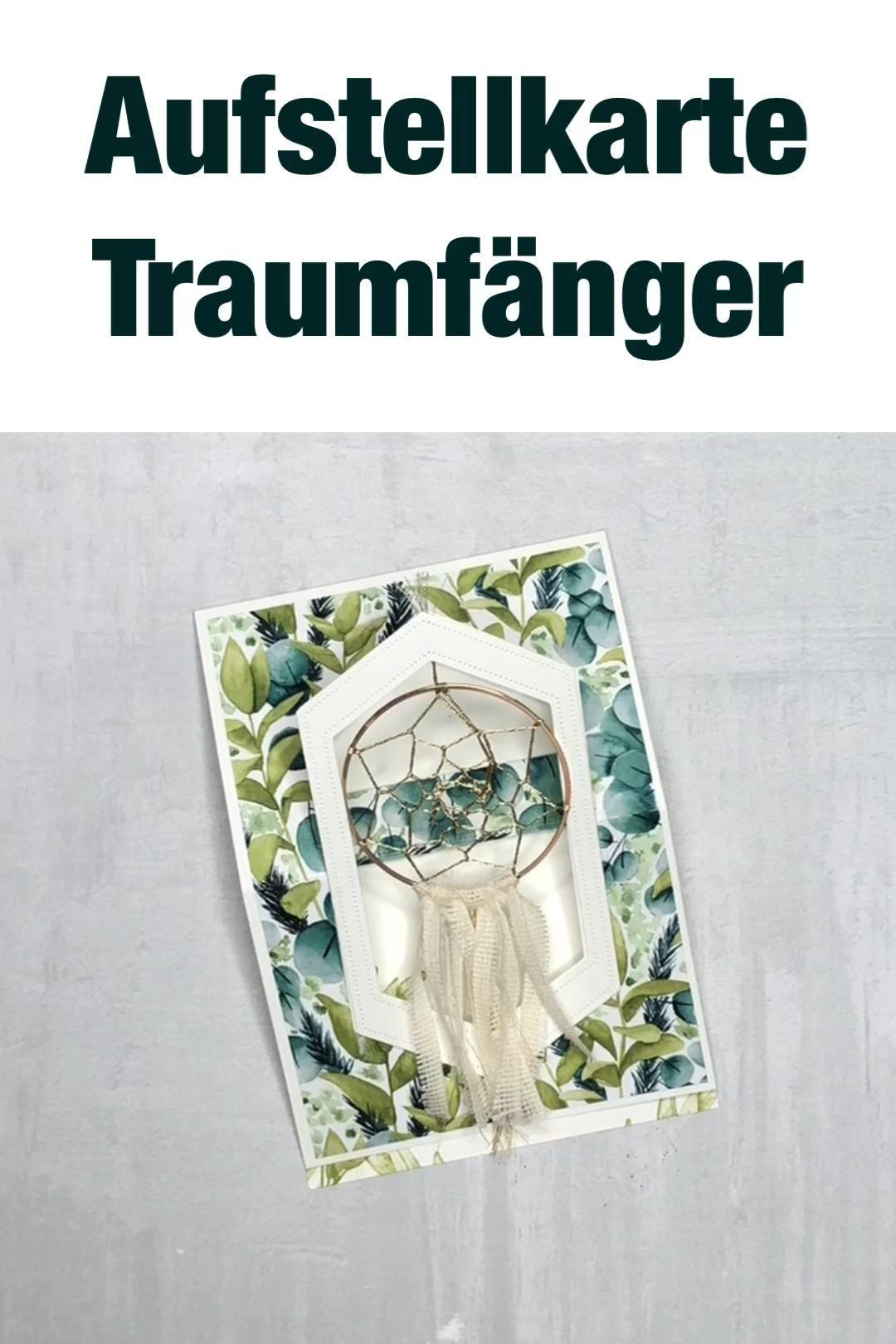 Photo of Anleitung Aufstellkarte Traumfänger, Produktreihe Ewiges Grün – YouTube