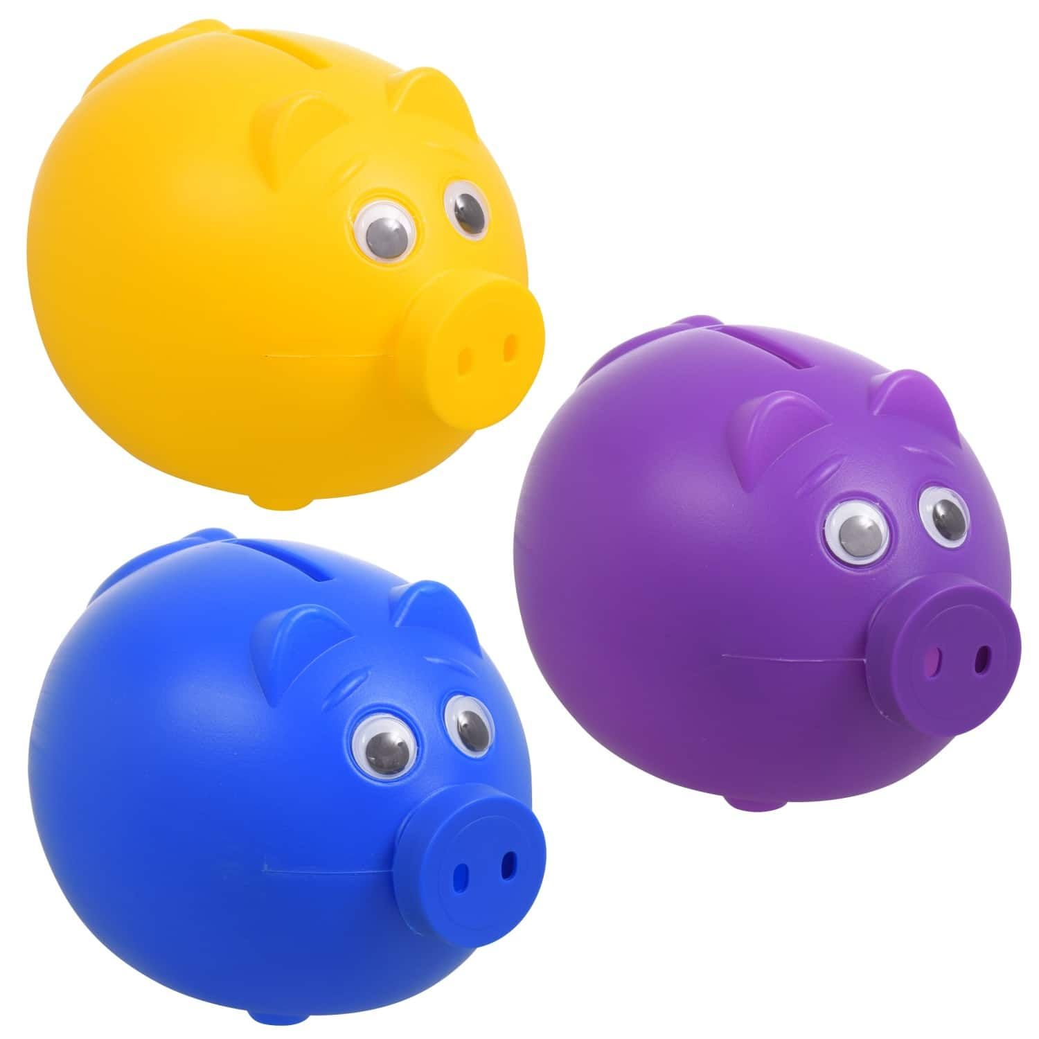 Plastic Piggy Bank Plastic Piggy Banks Piggy Bank Stocking Stuffers