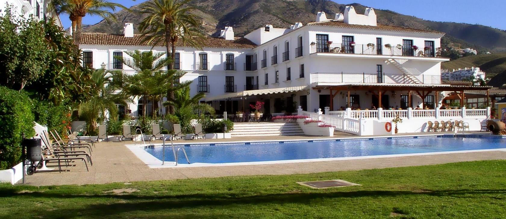 Piscina hotel hacienda puerta del sol mijas m laga - Hotel puerta del sol mijas ...