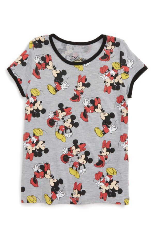 Mighty Fine Mighty Fine Disney - Smooches Graphic Tee (Toddler Girls, Little Girls & Big Girls) available at #Nordstrom