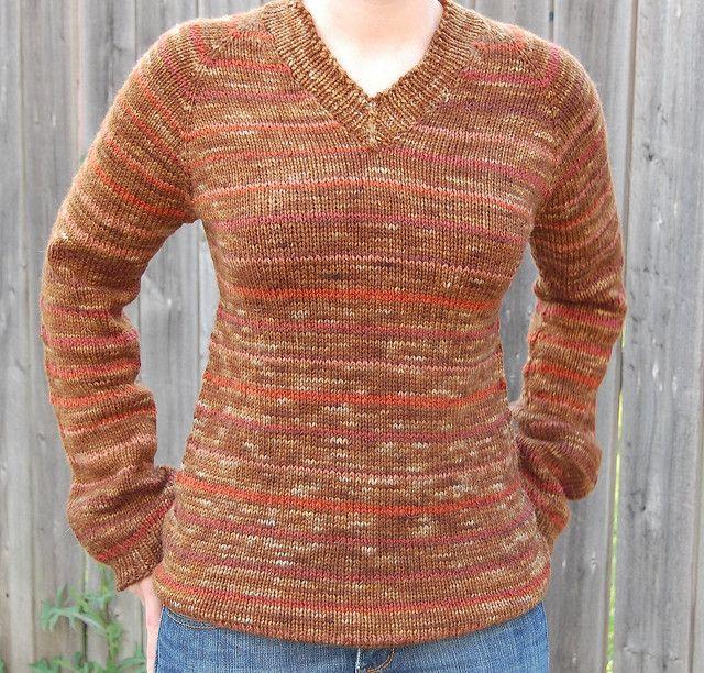 Free Sweater Knitting Patterns Circular Needles :