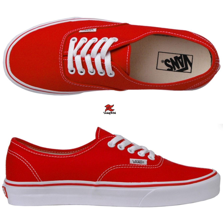 2fb44a2b0ad Tênis vans- vermelho