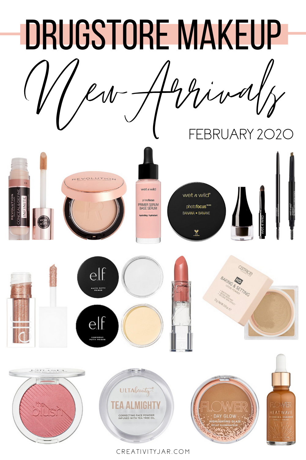 New Drugstore Makeup February 2020 in 2020 Drugstore