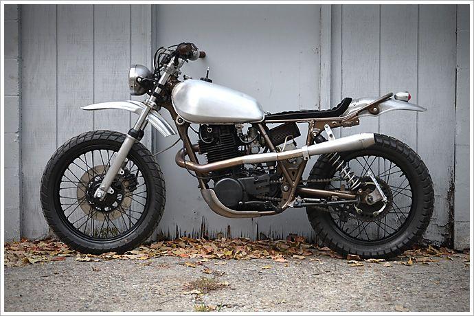 Yamaha xt500 single naked chick naked cafes and for Yamaha xt500 motorcycle