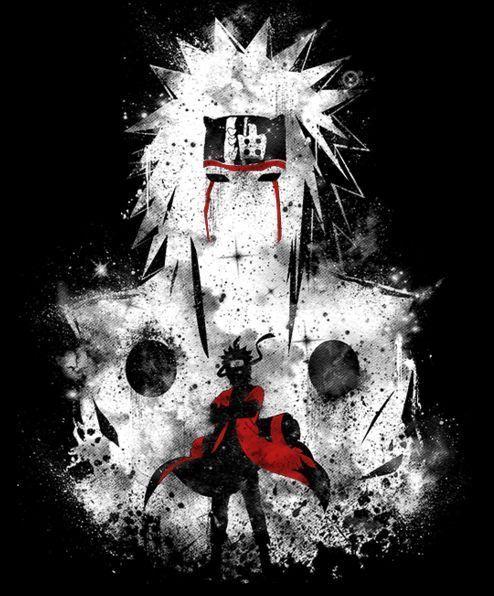 Photo of FanArt and Anime drawing Naruto. Jiraya with Naruto Uzumaki. Learn how to draw …