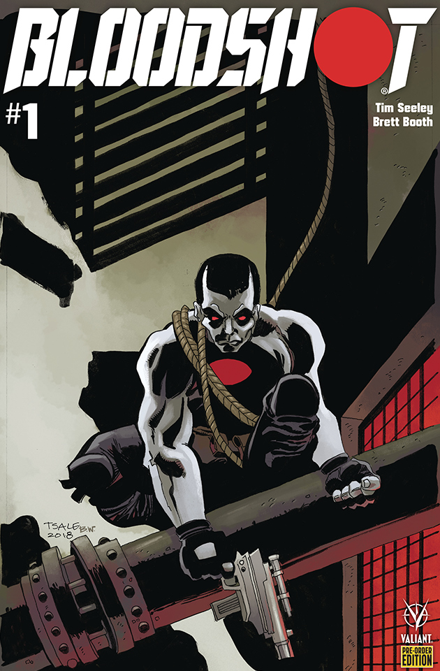 Bloodshot 1 (2019) Complete Cover Checklist Valiant