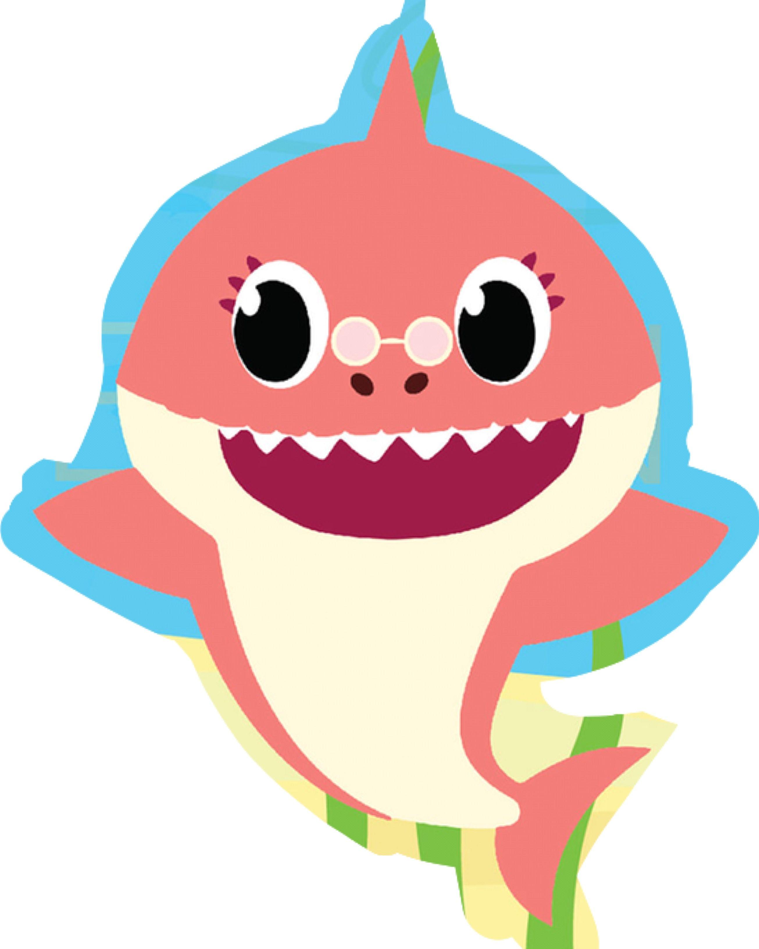 Rođendan | Baby shark in 2019 | Baby shark, Shark, Shark party